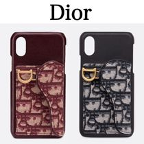 Christian Dior Leather Smart Phone Cases