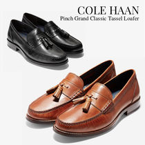 Cole Haan Loafers Tassel Plain Leather Loafers & Slip-ons