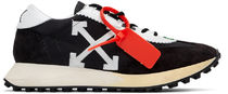Off-White Unisex Suede Street Style Sneakers