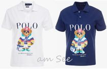 POLO RALPH LAUREN Casual Style Cotton Medium Short Sleeves Polo Shirts