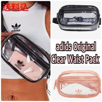 adidas Unisex Street Style Crystal Clear Bags Shoulder Bags