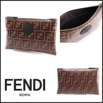 FENDI Monogram Street Style Pouches & Cosmetic Bags