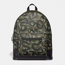 Coach Tropical Patterns Street Style Collaboration PVC Clothing