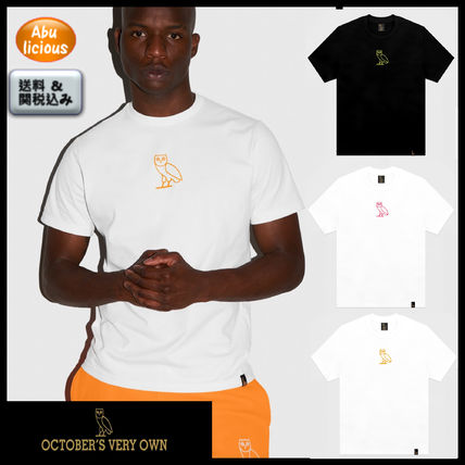 b8fbf394f Street Style U-Neck Plain Cotton Short Sleeves T-Shirts. OCTOBERS VERY OWN