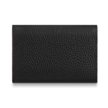 Louis Vuitton Folding Wallets Plain Leather Folding Wallets 5