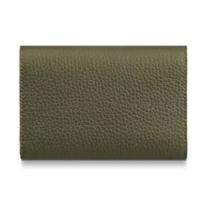 Louis Vuitton Folding Wallets Plain Leather Folding Wallets 9