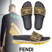 FENDI Street Style Shower Shoes Shower Sandals