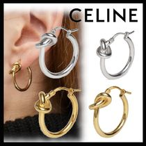 CELINE Brass Earrings & Piercings