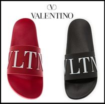 VALENTINO Street Style Shower Shoes Shower Sandals