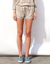 SUNDRY Printed Pants Short Leopard Patterns Casual Style
