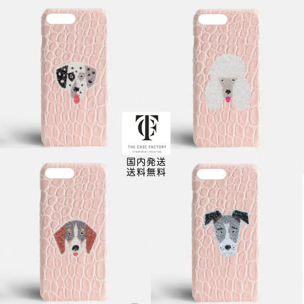 Other Animal Patterns Leather Handmade Smart Phone Cases