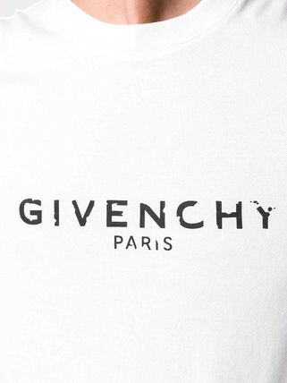 GIVENCHY More T-Shirts Crew Neck Street Style Plain Cotton T-Shirts 6