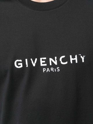 GIVENCHY More T-Shirts Crew Neck Street Style Plain Cotton T-Shirts 11
