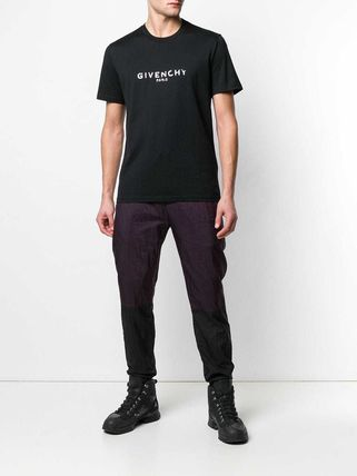 GIVENCHY More T-Shirts Crew Neck Street Style Plain Cotton T-Shirts 12