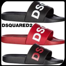 D SQUARED2 Street Style Plain Shower Shoes PVC Clothing Shower Sandals