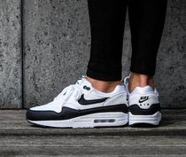 Nike AIR MAX 1 Unisex Street Style Low-Top Sneakers