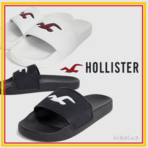 Hollister Co. Unisex Plain Shower Shoes Shower Sandals