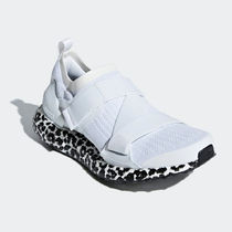 adidas by Stella McCartney Leopard Patterns Rubber Sole Casual Style Unisex