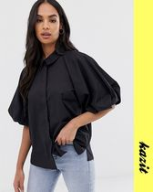 ASOS Casual Style Puff Sleeves Shirts & Blouses