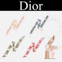 Christian Dior Casual Style Silk Street Style Other Animal Patterns