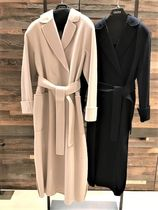 MaxMara Wool Plain Long Coats