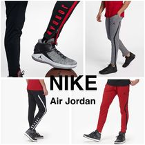 Nike AIR JORDAN Street Style Plain Joggers & Sweatpants