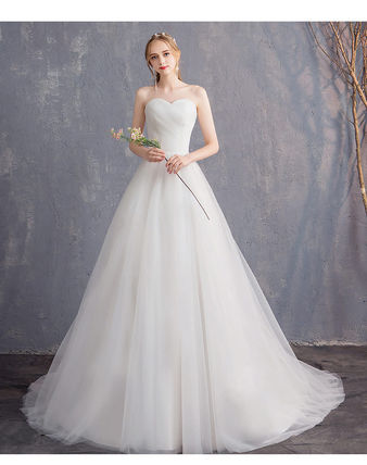 Maxi Long Wedding Dresses