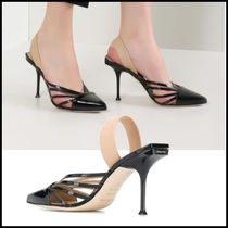 Sergio Rossi Leather Elegant Style Sandals Sandal