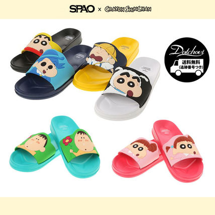 Casual Style Unisex Shower Shoes Flat Sandals