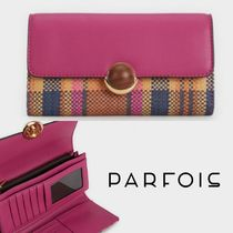PARFOIS Other Check Patterns Long Wallets