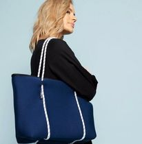 willow bay Casual Style Unisex Bag in Bag A4 Plain Elegant Style Totes