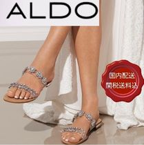 ALDO Open Toe Party Style With Jewels Sandals