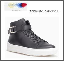 BUSCEMI Street Style Leather Sneakers