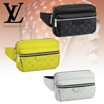 Louis Vuitton BUMBAG Monogram Canvas Blended Fabrics Street Style 2WAY Bi-color