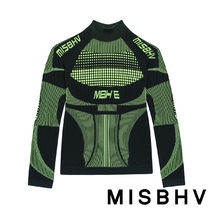 MISBHV Street Style Activewear Tops