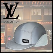 Louis Vuitton Unisex Street Style Beret & Hunting Hats