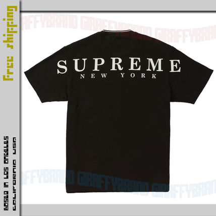 Supreme More T-Shirts Unisex Street Style Collaboration Short Sleeves T-Shirts