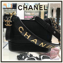 CHANEL Calfskin 2WAY Chain Elegant Style Shoulder Bags