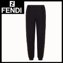 FENDI Monogram Wool Jeans & Denim