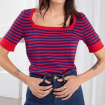 & Other Stories Casual Style Cotton Tops
