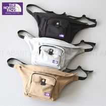 THE NORTH FACE Casual Style Unisex Suede Street Style Plain Shoulder Bags