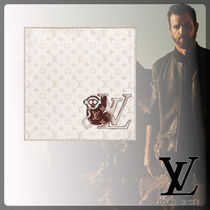 Louis Vuitton Monogram Unisex Silk Handkerchief