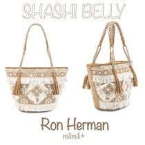Ron Herman Casual Style Fringes Totes