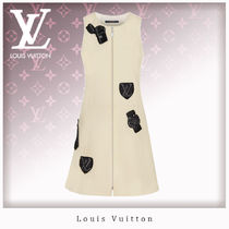 Louis Vuitton Wool Sleeveless Dresses