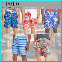 Ralph Lauren Stripes Tropical Patterns Street Style Beachwear