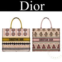 Christian Dior Casual Style Canvas Street Style A4 2WAY Handmade Tribal