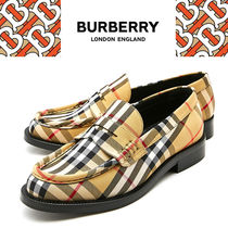 Burberry Tartan Loafer & Moccasin Shoes