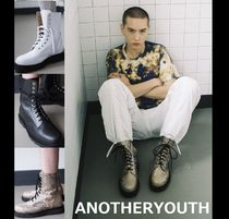 ANOTHERYOUTH Unisex Street Style Plain Boots