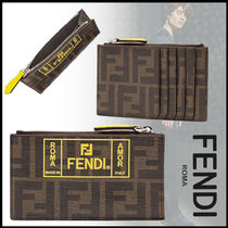 FENDI Monogram Coin Cases