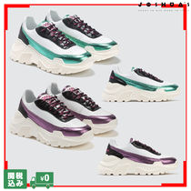 Joshua Sanders Round Toe Rubber Sole Casual Style Street Style
